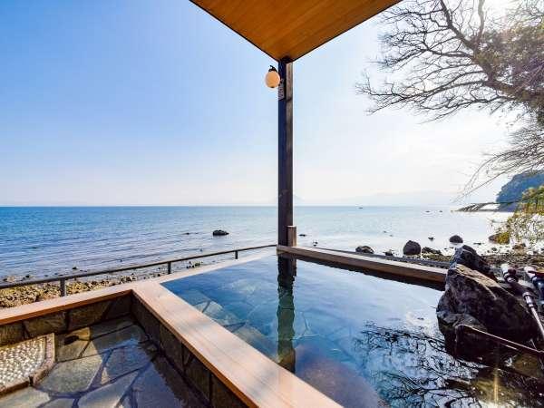 *【露天風呂付きコテージ(大和)】海を一望できる露天風呂付きのお部屋は大和だけ♪
