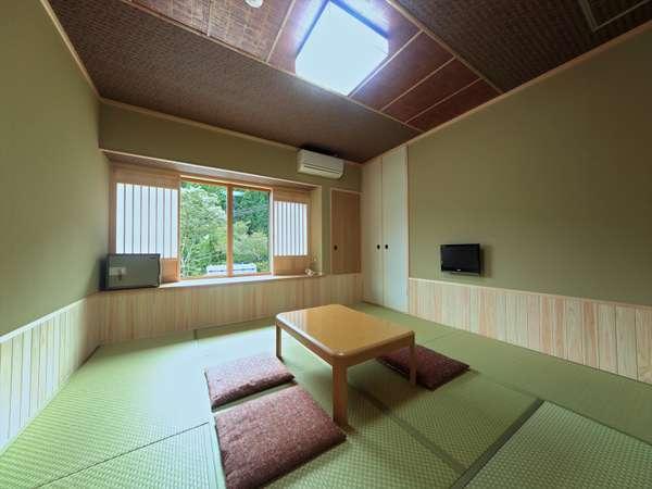 シンプルな京の和室、208号室