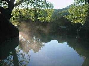 四季折々の風景が味わえる本館宿泊者専用☆露天岩風呂