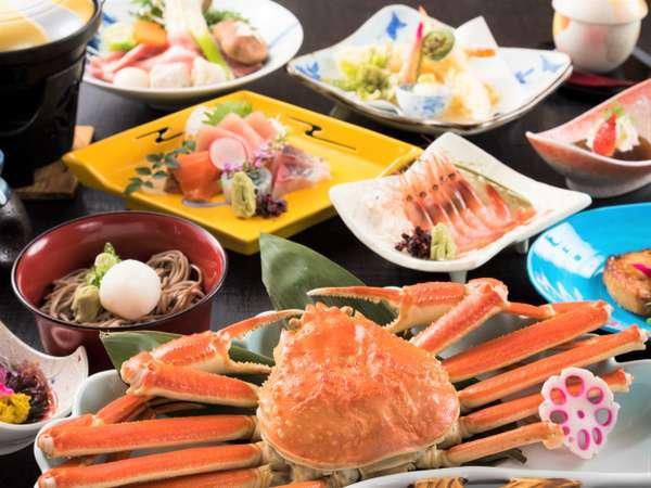 福井で泊まるならやっぱりカニ!(蟹の大きさはアップグレードできます)