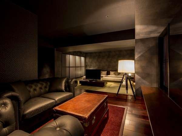 <最上階フロア>畳敷/スイート/ダブルベッド 55平米