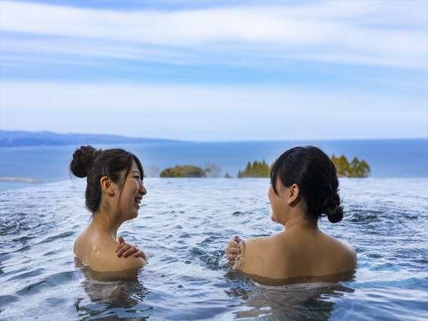 【『絶景と癒しの宿』 雨晴温泉 磯はなび】富山湾一望 絶景と癒しを届ける雨晴の温泉一軒宿