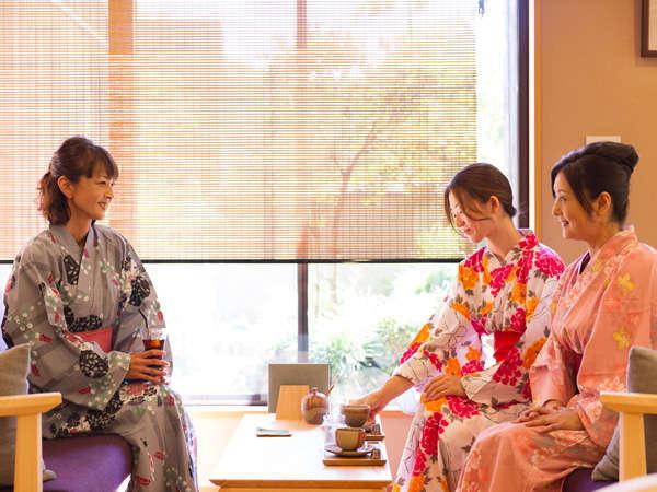 【1200年続く幻の湯治の郷 湯郷温泉 季譜の里】女性に人気のリラックス宿。美味しい料理とベストなサービス♪