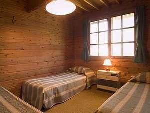 山小屋風のお部屋