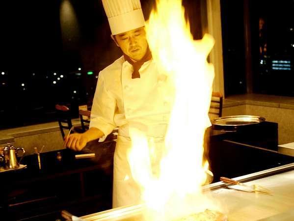 18階鉄板焼レストラン『八景』 熟練された匠の技をお楽しみ下さい!