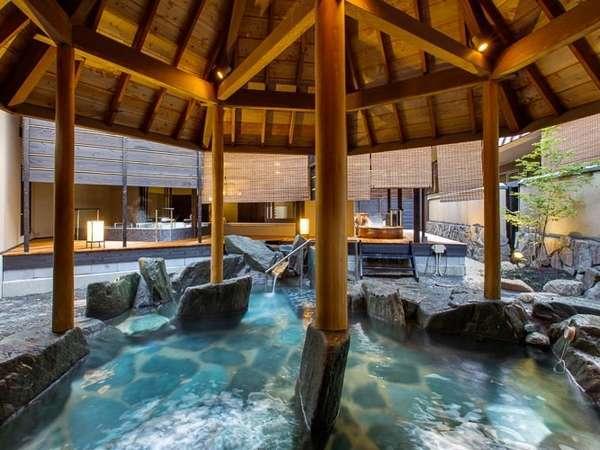 平成26年4月29日、1階に「天地の湯」が新たにオープン!露天風呂の景観も良くなりました。
