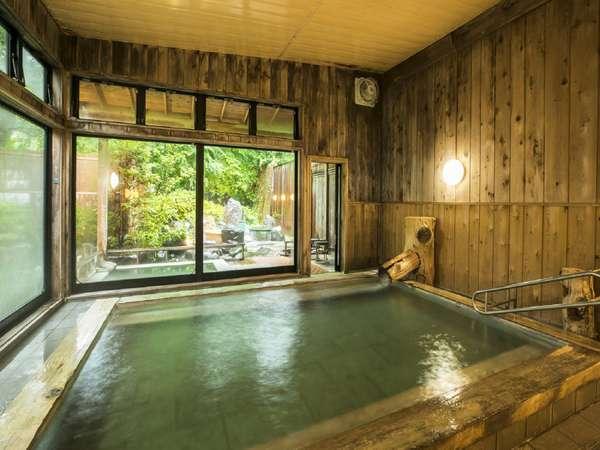 大浴場 自家源泉のやさしいお湯をご堪能下さい。