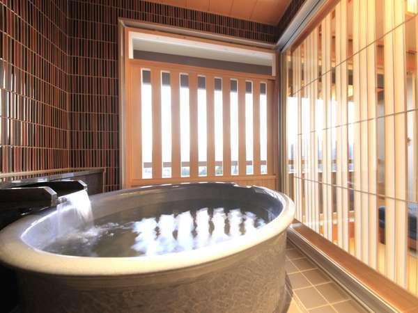 【最上階露天付】3シモンズベッド+源泉掛流し露天風呂+シャワー+シャワートイレ
