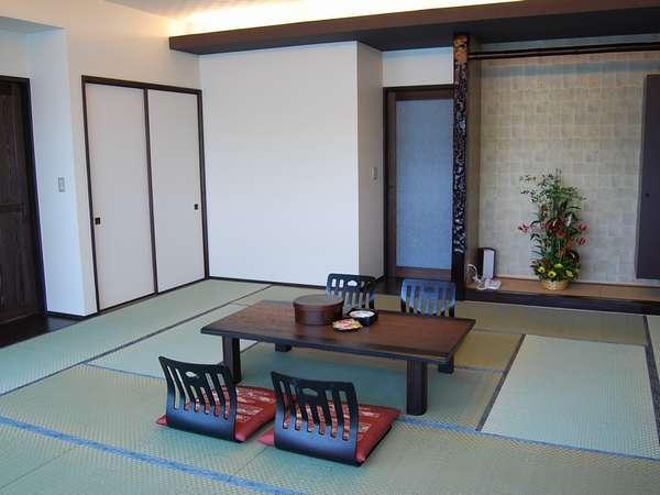 2009年4月にリニューアルした部屋。4~5人でもゆったりとしたスペースです