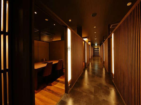 【鍋団欒】プライベートな空間でお食事できる個室完備