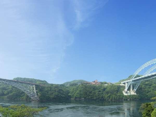 外観と西海橋