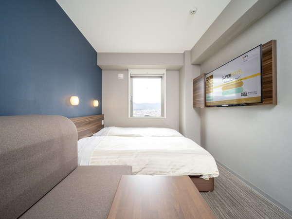 【新館】ハリウッドツインルーム★ツインルームにソファーベッドが付いたお部屋♪2021年3月19日オープン!