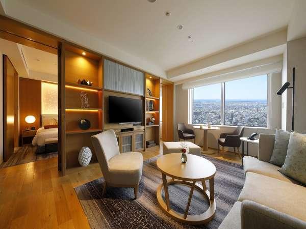 「大切な時を過ごす舞台」をコンセプトにしたフロア。スイートルームは64平米のゆとりあるお部屋(一例)