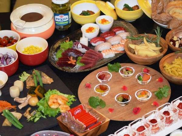 【GW・夏期限定ブッフェ】色とりどりの美味しい料理を御用意