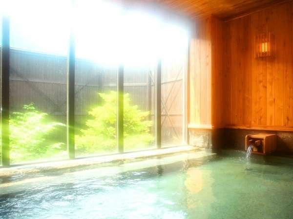 温泉大浴場〝ゆくら〟気持ちの良い太陽の差し込む弐の湯