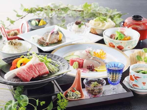 讃水館 基本料理(一例)