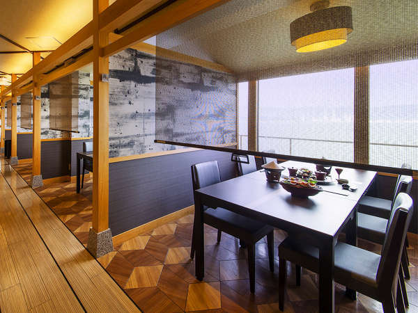 ◆半個室食事処で三密対策も万全!お食事中も大切な人とのプライベートな空間を確保◆