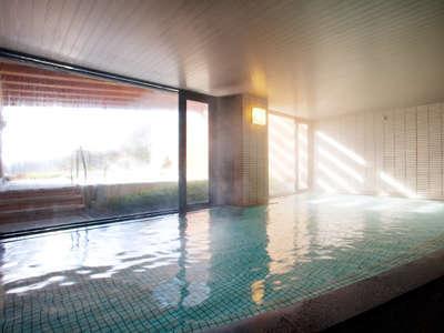 活性の湯とも呼ばれる光明石温泉。お肌がツルツルになります♪