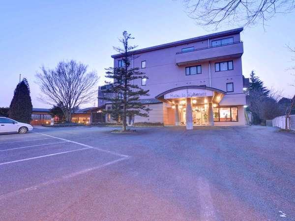 """*首都圏から90分!""""笠間芸術の森公園""""すぐ隣に佇む全館洋室のホテル。"""