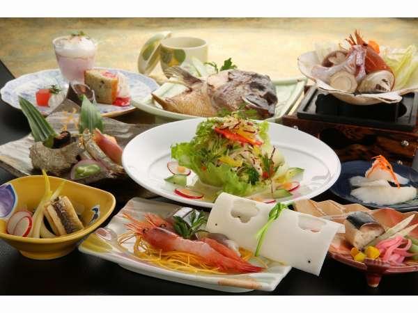 お料理一例(イメージ)男鹿の山海の幸で作る郷土料理をお楽しみ下さいませ。