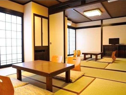 広めの二間和室【客室一例】