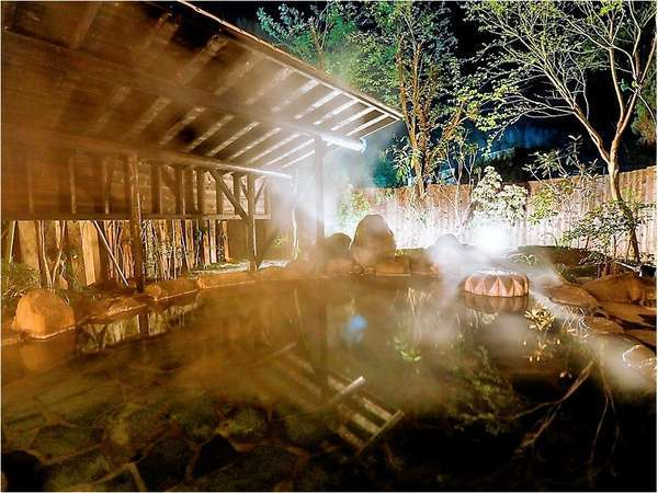 【温泉】自慢の露天風呂「満天の湯」!(男女入替制)