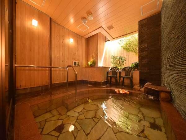 【男性大浴場】半露天風呂