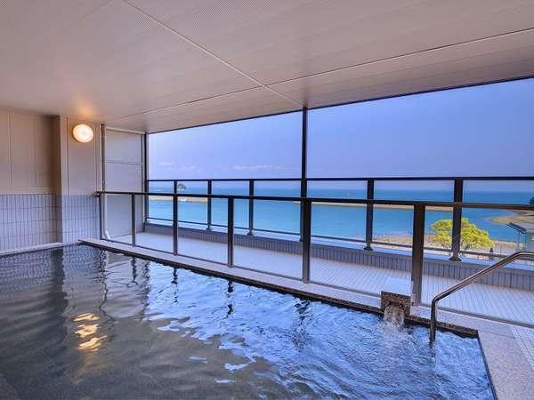 【HOTELシーサイド島原】国内有数の高濃度炭酸泉と安心の耐震耐火構造♪海沿いのホテルです