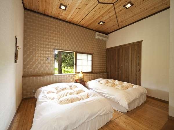 竹林庵の寝室