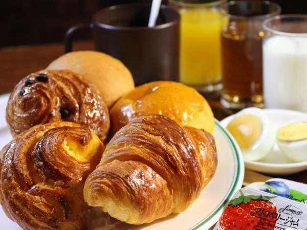 バーデンバーデン パン、朝食メニュー