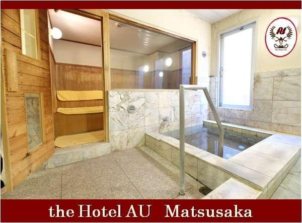 ■ サウナと水風呂(男子):定員 4名まで