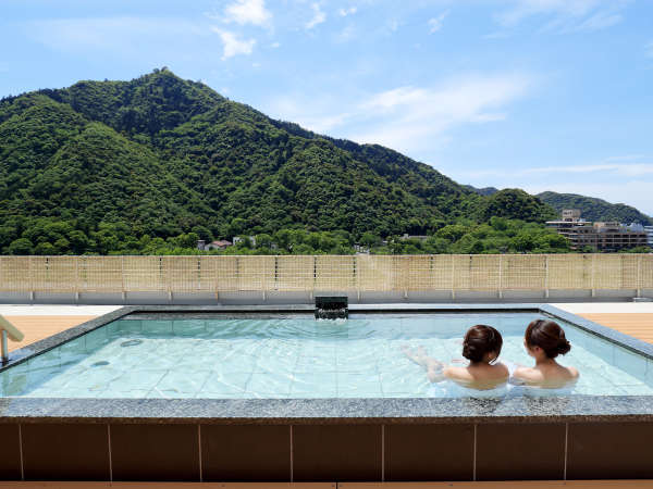 絶景屋上露天風呂