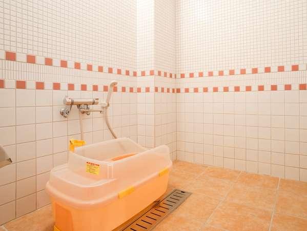 ワンちゃん専用のシャワールーム