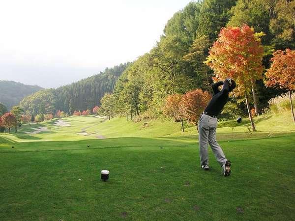 ◆自然豊かな全18ホール。併設ゴルフ場もあります♪