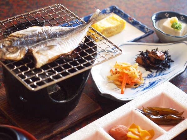 *朝食一例/島の恵みの和朝食