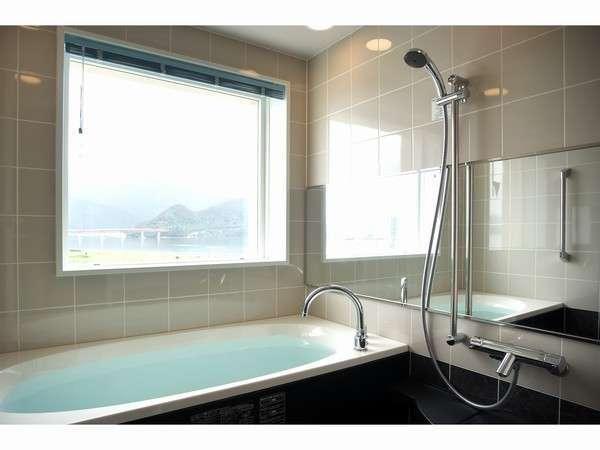 お風呂からの景色は最高