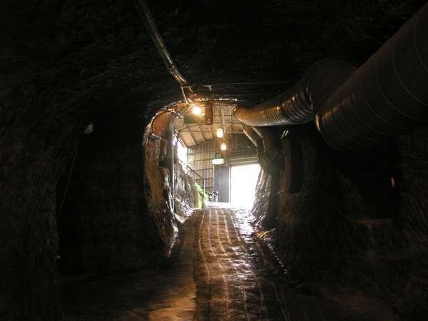 洞窟座敷年中18度~23度神秘の世界へ