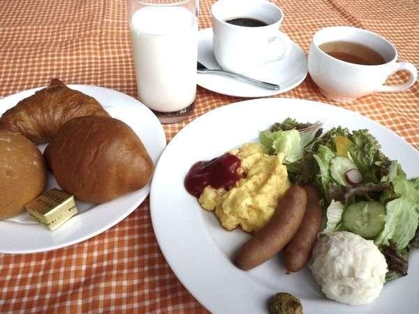 レストランポシェでの朝食