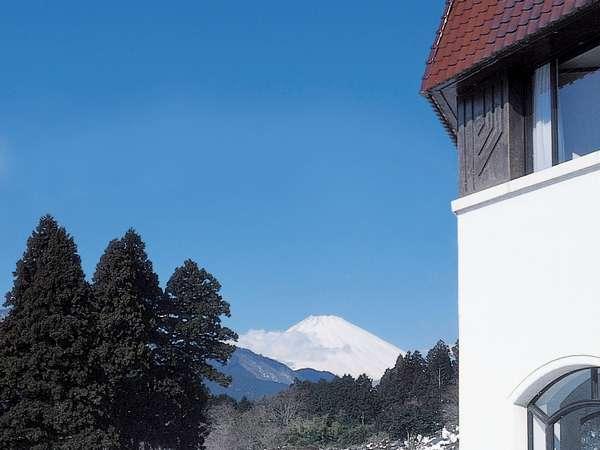 庭園や展望室からは富士山を望めます。運が良ければレストラン・テラスからも・・・