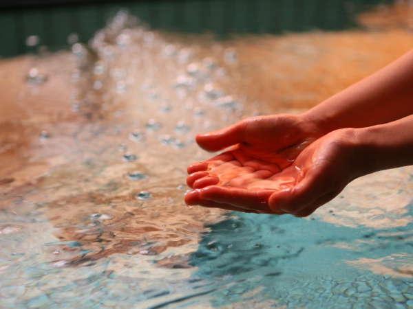 ■美容に良い活性水を使用、疲れも癒す優しいお湯です