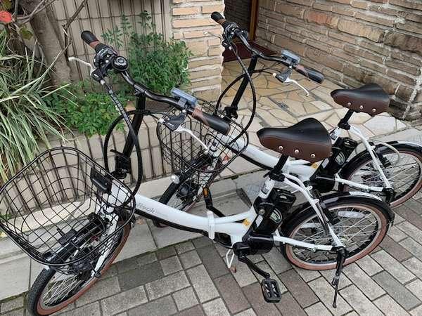 電動アシスト自転車レンタサイクルに登場快適に颯爽と市内観光へどうぞ