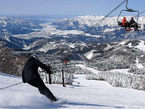 西日本最大級のビッグゲレンデ_スキージャム勝山
