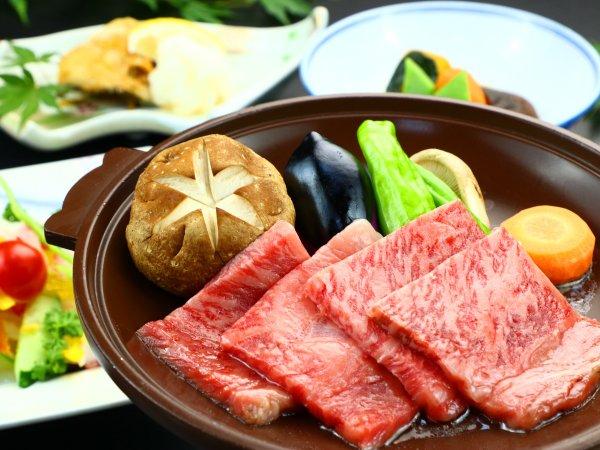 『にいがた和牛』は新潟県のブランド牛♪この価格で食べれるのは当館だけかもしれません!