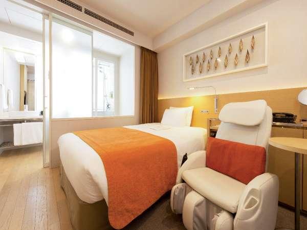 【セミダブル】ベッド幅140cmのゆったりサイズ。こだわりのオリジナルマットレスで快眠をお約束