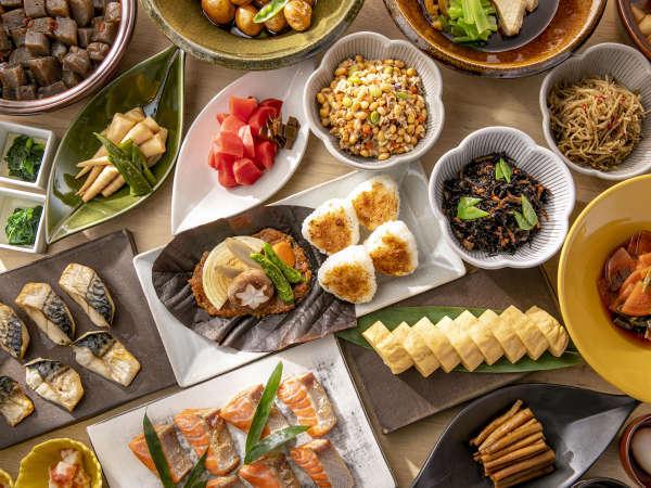 *【朝食(一例)】朝に嬉しい料理の数々をご提供いたします