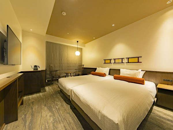 *【コンフォートツイン(イメージ)】当ホテルのメイン客室となるツインルームのお部屋。
