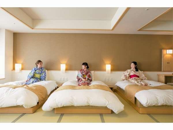 【客室】女子3人組の女子旅にもピッタリ♪(イメージ)