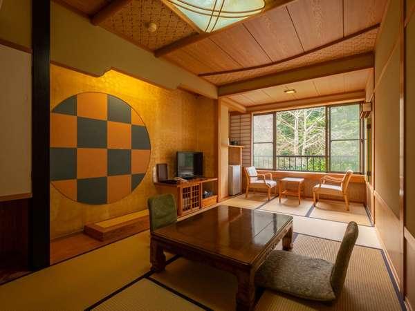 和室8畳のお部屋。何もしないゆっくりな時間を。