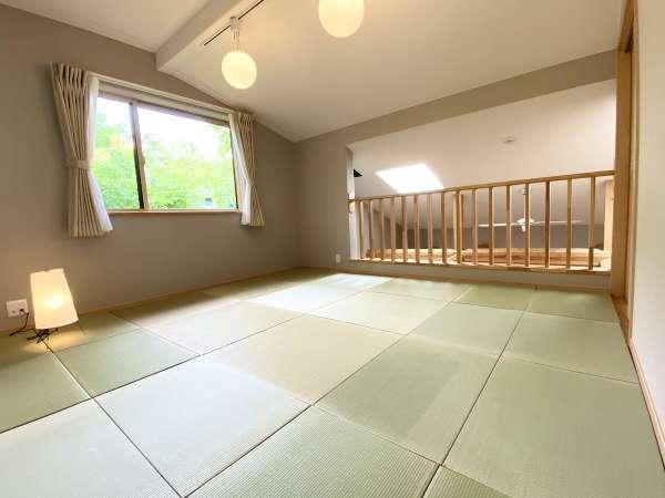 2階畳敷きのフリースペース