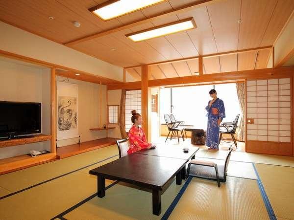 純木曽檜をふんだんに用いた和室「木の香」(このか)